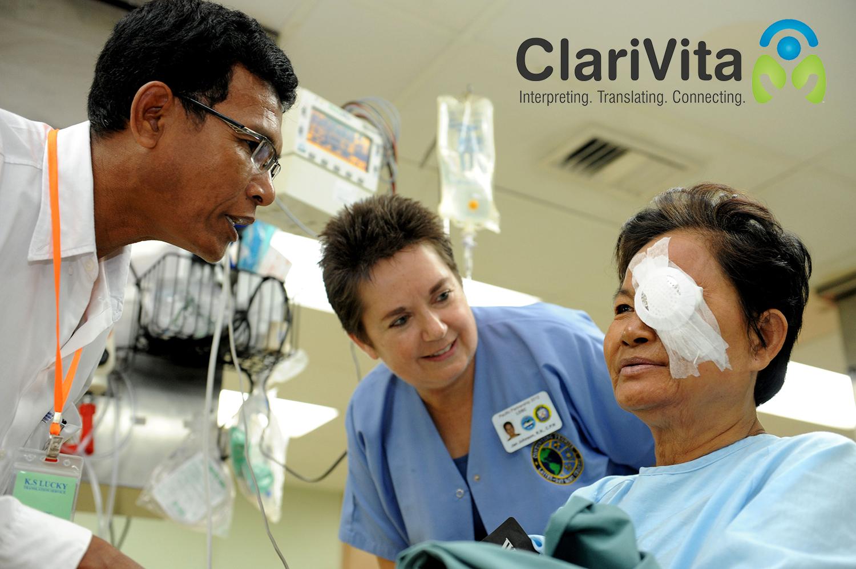 clarivita interpreting service